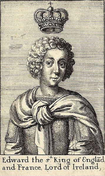 Edward V by Wenceslas Hollar