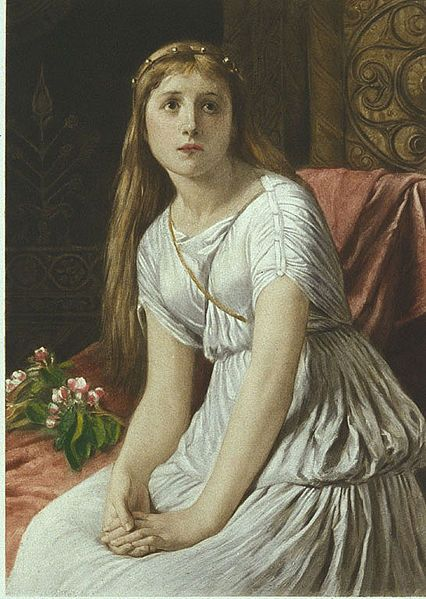 Cordelia by William Frederick Yeames