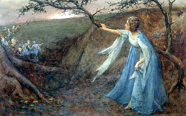Titania by Henry Meynell Rheam