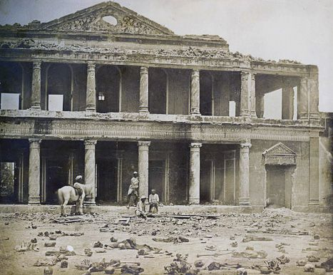 Secundra Bagh after the Indian Mutiny
