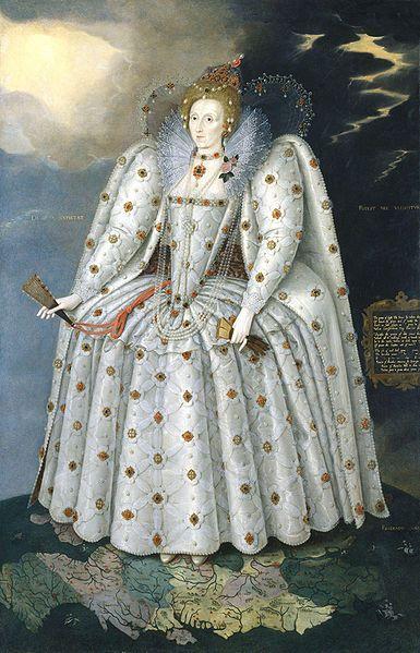 Queen Elizabeth I (The Ditchley portrait) by Marcus Gheeraerts