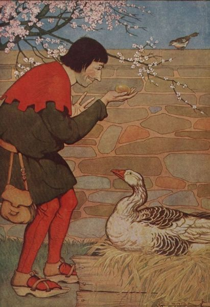 Aesop The goose that laid the golden egg