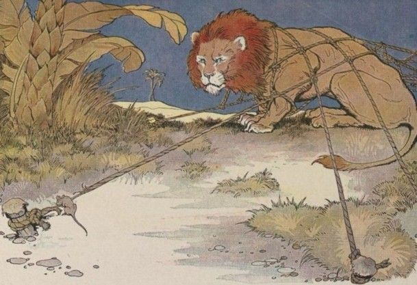 Aesop The Lion and the Mouse